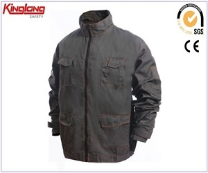 Hot sale chest pockets and side pockets jacket, durable and functional long sleeves jacket