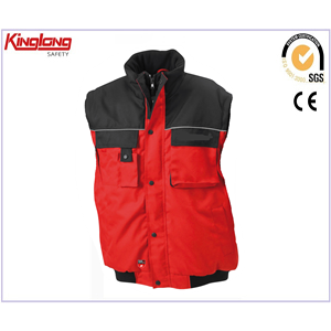 China Durable Utility Construction Safety Vest Workwear Waistcoat factory