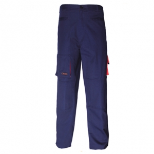 China High quality power Pants bule with reinforced knee part factory