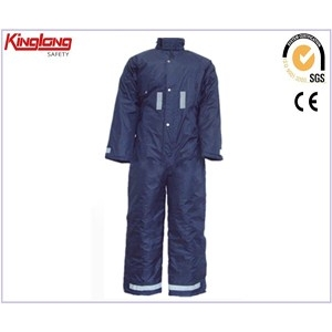 China Navy blue warm mens winter workwear coveralls,winter clothes china manufacturer factory