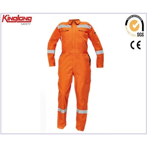 China Overall with Leg Pockets,Reflective Overall with Leg Pockets,Orange Reflective Overall with Leg Pockets factory