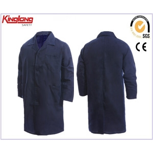 China warehouse long coat,navy workers warehouse long coat,100%cotton navy workers warehouse long coat factory